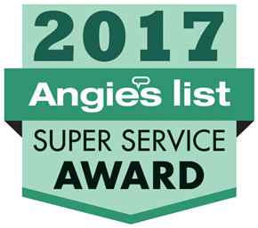 Angie's List Super Service Award 2017!