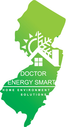 New Jersey Silhouette with Doctor Energy Smart® Logo