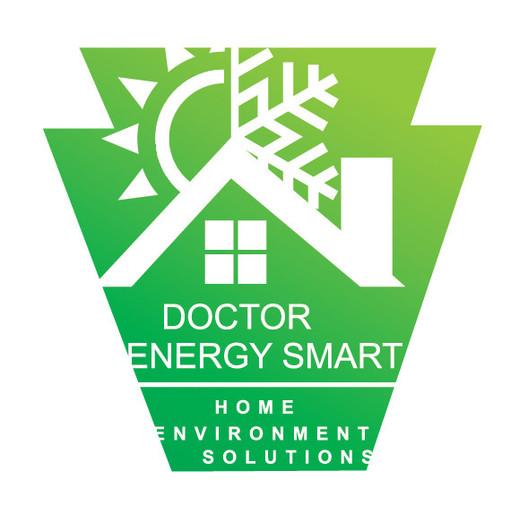 Pennsylvania Silhouette with Doctor Energy Smart® Logo
